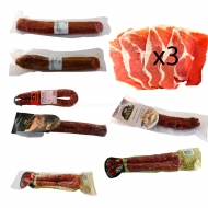 ENVÍO GRATIS, 3 Fileteado Jamón, 2 Salchichón, 3 Chorizo, 2 Longaniza. L7